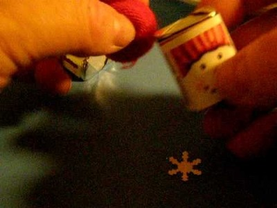 How to make a mini snowman hug using Carries Kiddie Closet nugget labels