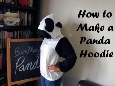 How to Make a Panda Hoodie