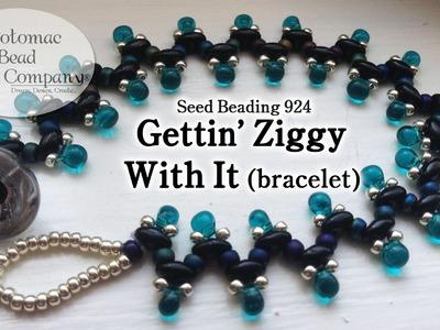 """Make a """" Gettin Ziggy With It """" Bracelet"""