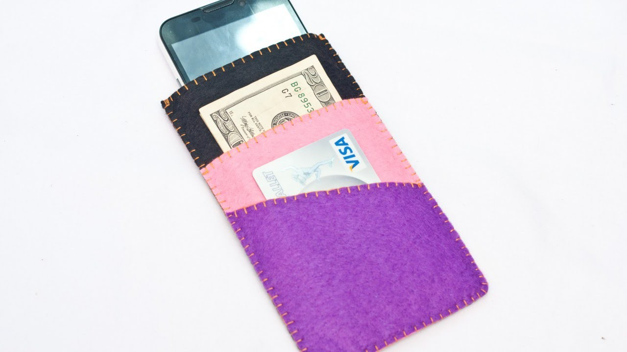 Make Cool Phone Case with Money and Card Holder - DIY Technology - Guidecentral