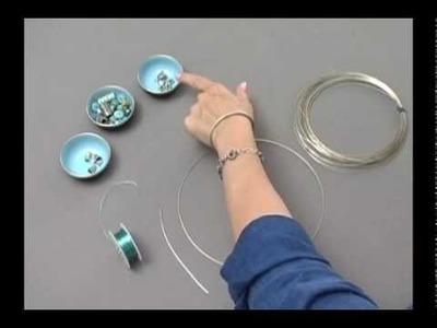 Making a Viking Knit Bracelet