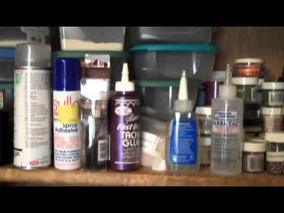 Organizing My Craft Room - Video 1