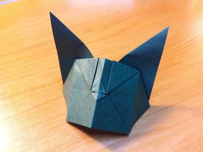 Origami Cat (Neko) Instruction