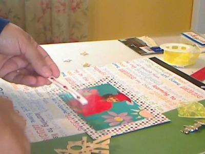 Pre-Kindergarten scrapbook layout
