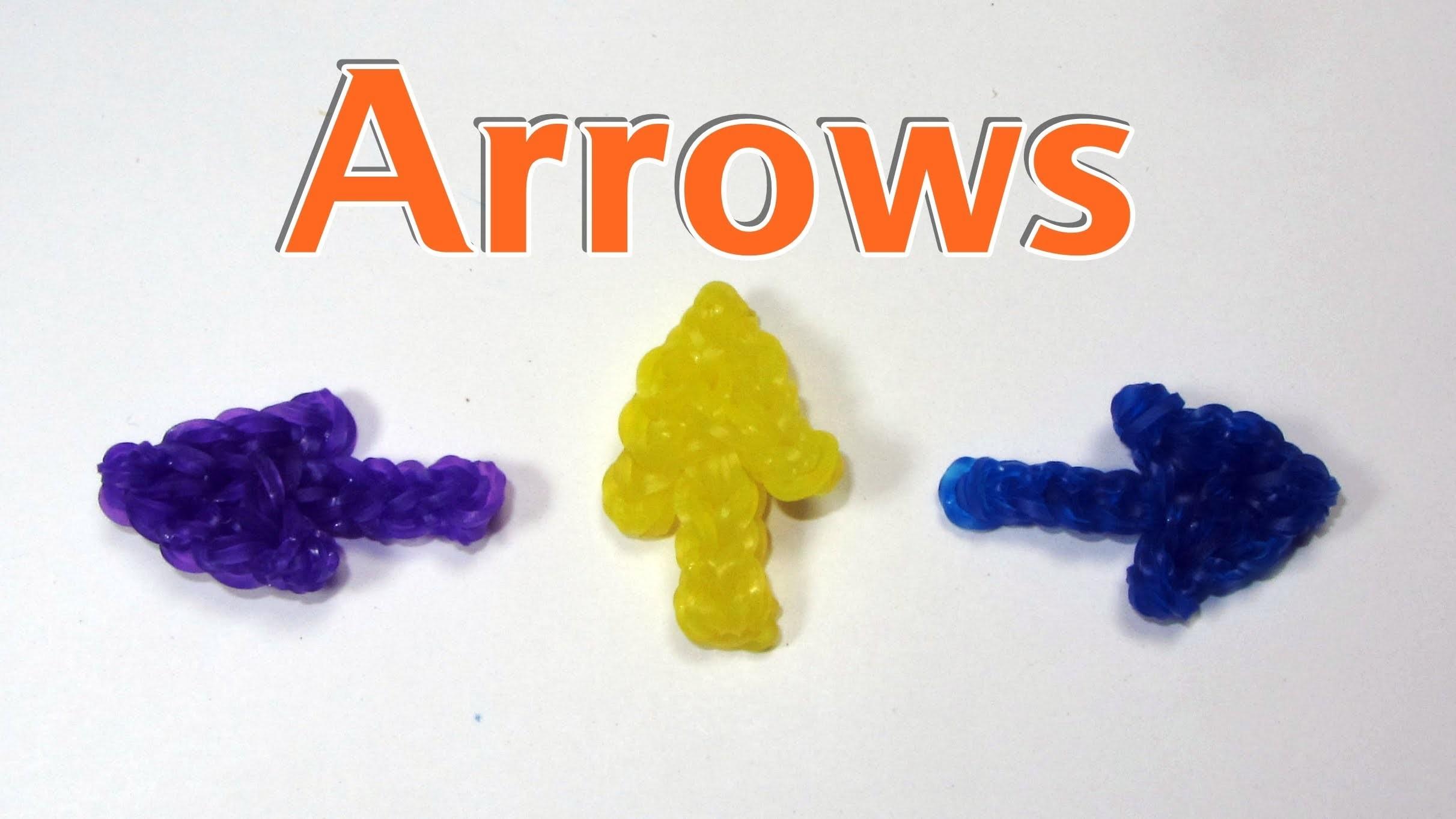 Rainbow Loom Charms: ARROW: How To Design Tutorial
