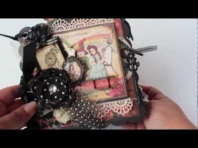 Scrapbooking G45 Magic of Oz Mini Album (BM DT Project).m4v