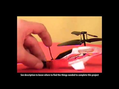 Spy Helicopter Camera : Make Your Own!   Cool DIY Project