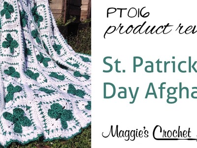 St. Patrick's Day Afghan Crochet Pattern Product Review PT016