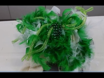 St Patrick's Day Scarf - DIY Idea from Bowdabra