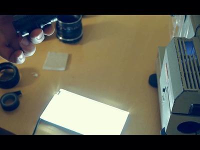 The Projector - Realtime DIY Telcine - Canon 5DMK2