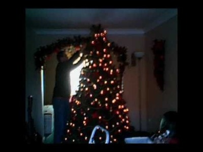 Time Lapse: Putting up the Christmas Tree 2010