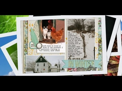 TLS007: How to Make a Scrapbook Page | Finding Your Story