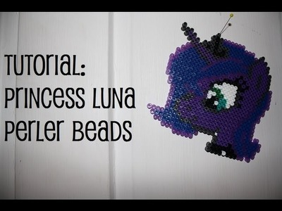 TUTORIAL: Princess Luna Perler Beads DIY