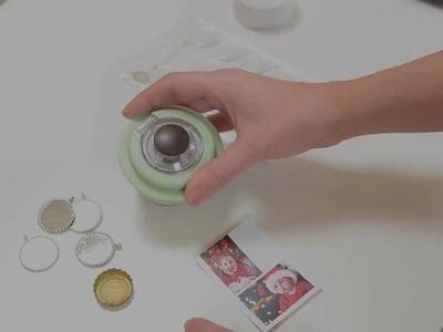 Using the Epiphany Crafts Round 25 Shape Studio Tool to create custom embellishments.