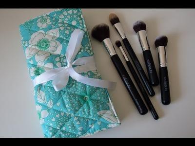 XO Beauty Brush Roll: DIY Tutorial