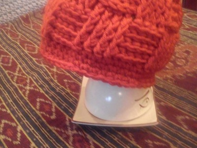 Basketweave beanie DIY. czapka na szydełku. crochet beanie.how to make basket weave stitch