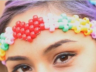 Beaded Headband ♥ DIY
