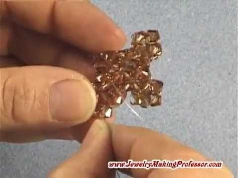 Beading Video | How To Make a Beaded Crystal Cross