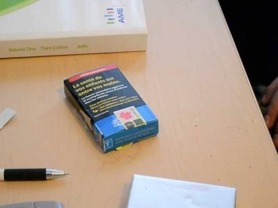 Best Smoke Trick, Mini Cigarette Pack Origami