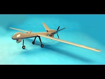 Big Remote Control Drone Aircraft w. Bigger Motor & External FPV Camera