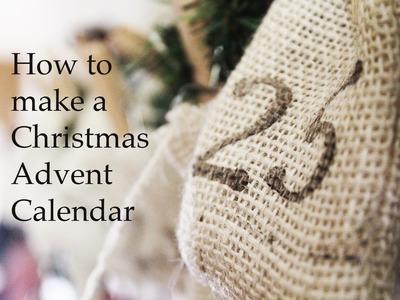 Christmas Craft: How to make an Advent Calendar