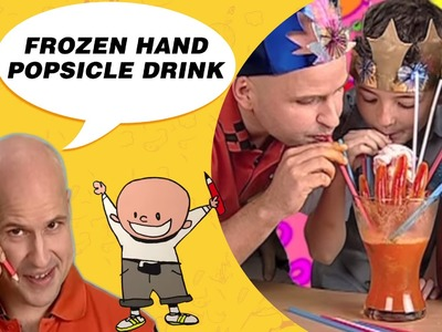 Crafts Ideas for Kids - Frozen Hand Popsicle Drink | DIY on BoxYourSelf