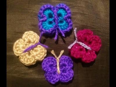Crochet 3D Butterfly Kisses by YarnWars