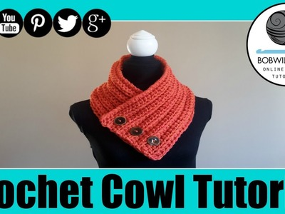 Crochet Its Fall Y'all Cowl Tutorial