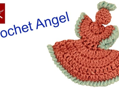 Dainty Crochet Angel - How To and DIY Crochet Geek