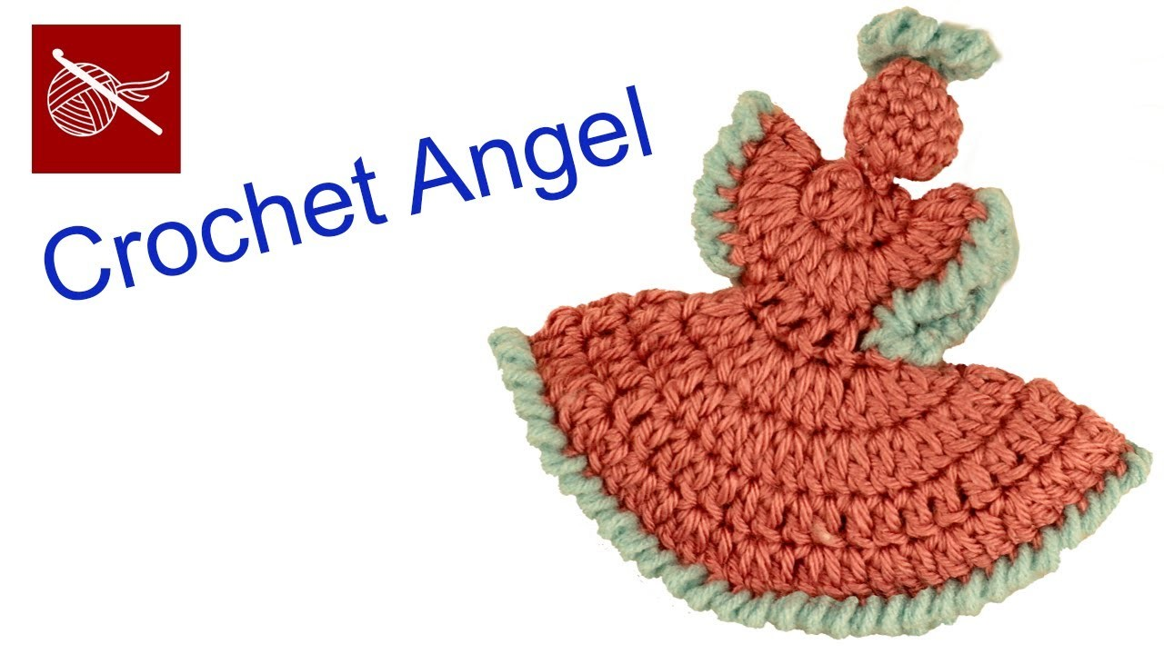 Dainty Crochet Angel - How To and DIY Crochet Geek