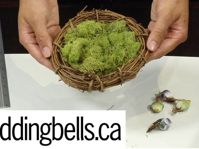 DIY Birds Nest - weddingbells.ca