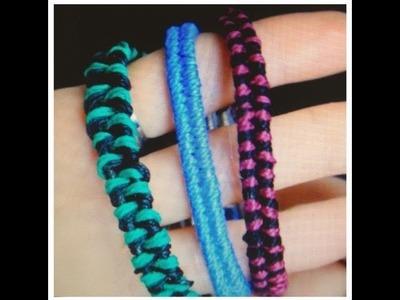 DIY Bracelets  : Super Easy Fishtail!