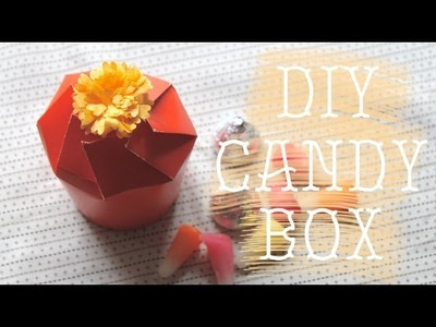 DIY Candy Box (For Halloween, Party, and Home Decor)
