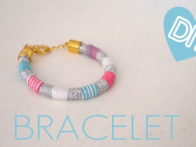 ♥ DIY Friendship Bracelet  | quick & easy | how to | tutorial