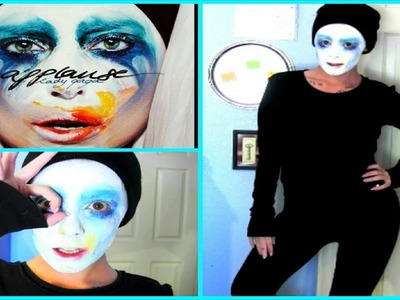 DIY Halloween Costume: Lady Gaga Applause Music Video Costume & Makeup! | LikeWowLala