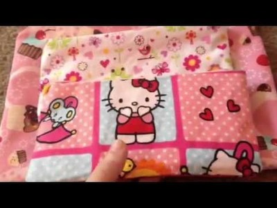 DIY kawaii zipper bag