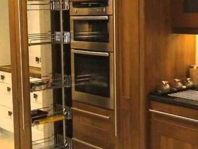 DIY Kitchens - Dispensa pull out larder mechanisms