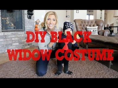 DIY Spider Halloween Costume