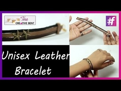 DIY Tutorial | How to make Unisex Leather Bracelet