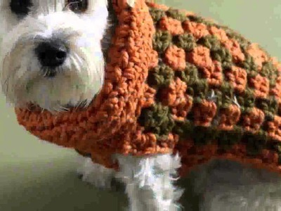 Easy Crochet Dog Sweater Pattern Free  New Decoration