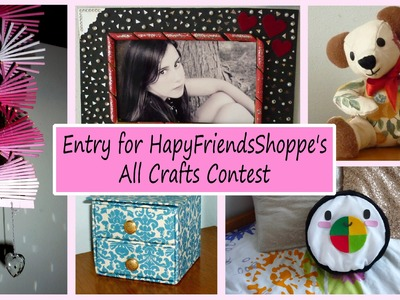 Entry for HapyFriendsShoppe's All Crafts Contest