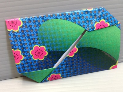 Free Origami Paper - Print Your Own! - Reverse Flower Yuzen