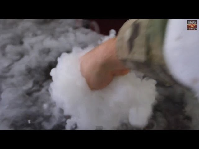 Homemade Dry Ice
