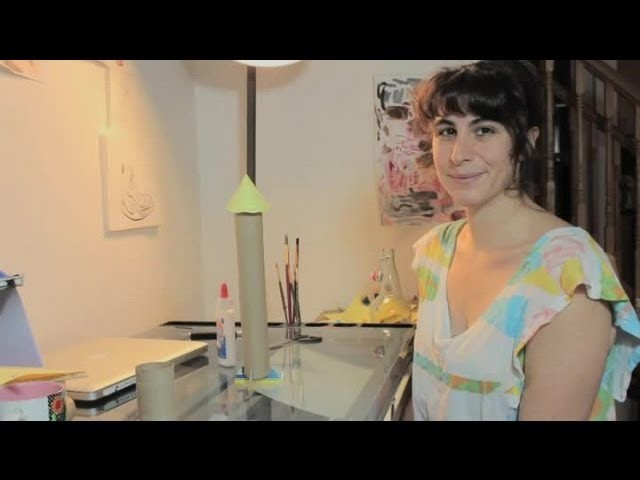 How to Build a Space Rocket With Paper Towel Cylinders : Paper Crafts