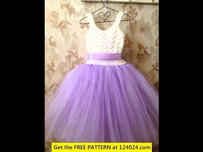 How to make a crochet tutu top