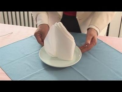How To Make A Glacier Napkin