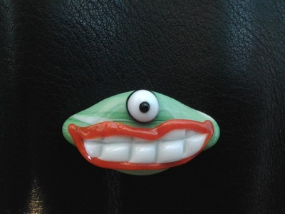 "How to Make a SillyFace ""Something-Or-Other"" Bead - Advanced Beginner Glass Tutorial"