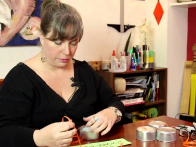 "How to Make ""Just Married"" Decorations With Cans : Jewelry, Decorations & Other Crafts"