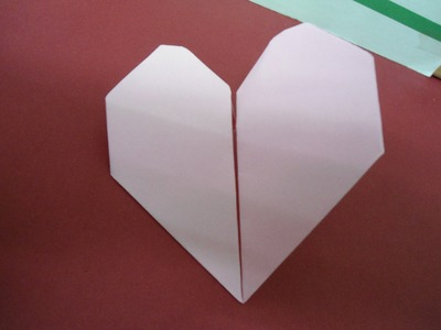 How to make origami beating heart