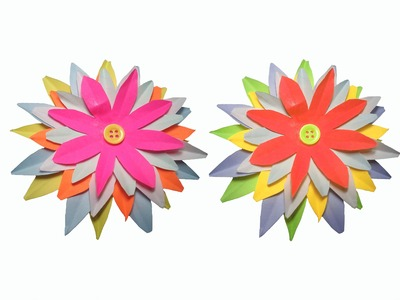How to make Paper Flower ( very easy ) : DIY Craft